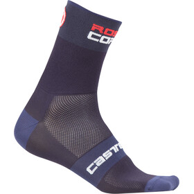 Castelli Rossocorsa 9 Socks dark/steel blue